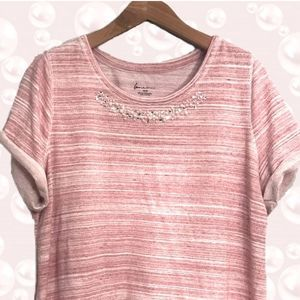 Lane Bryant Short Sleeve Terry Cloth Top 18/20